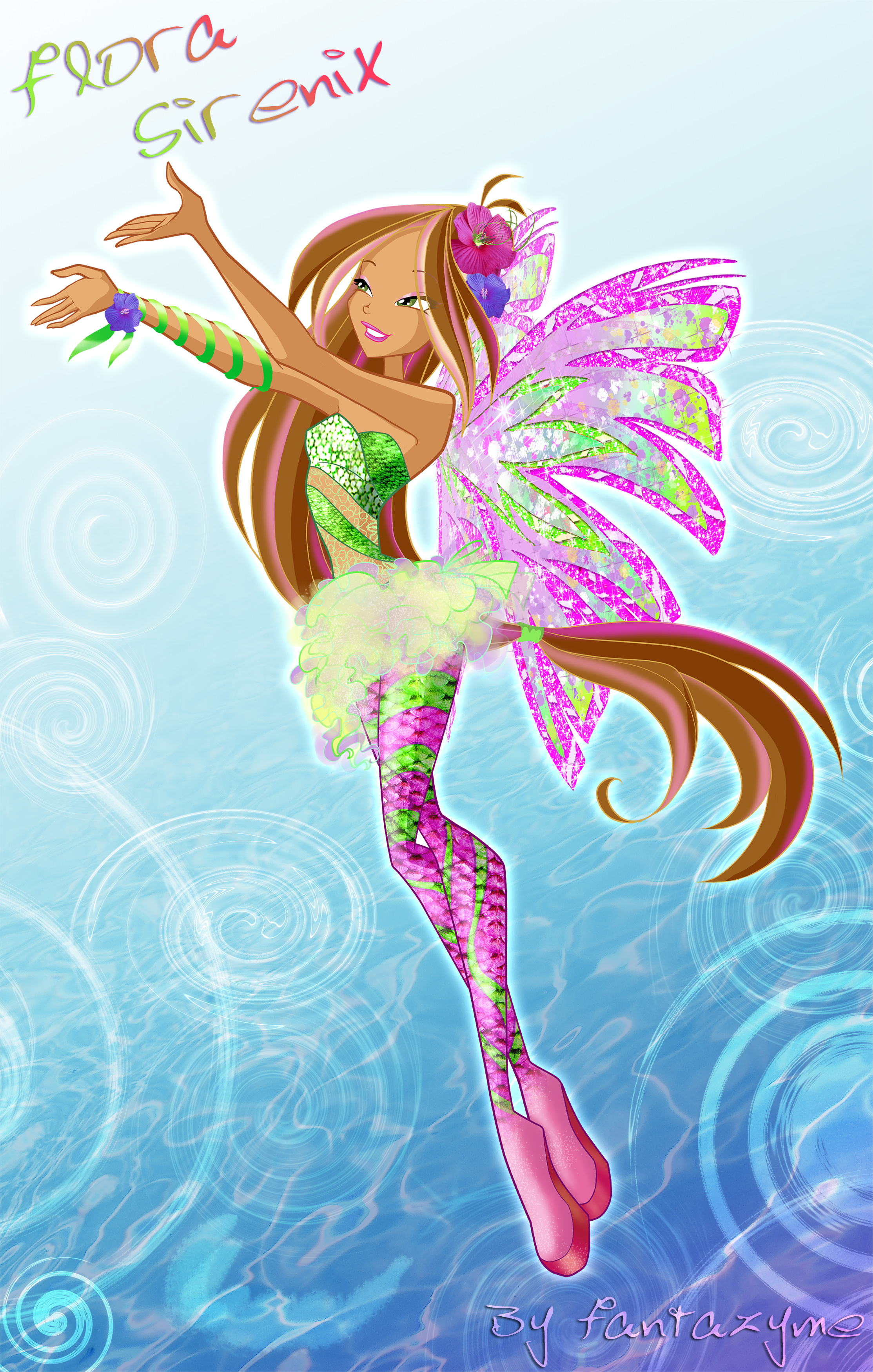The Winx Club Winx club Flora 5 season Sirenix\Винкс клуб 5 ...