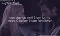 You know you're a Captain Swan fan when...