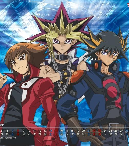 Yugi, Jaden & Yusei
