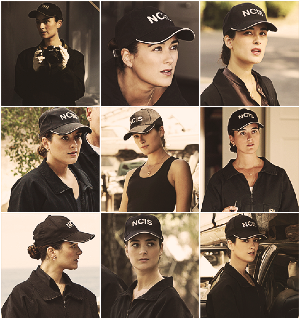 Ziva David Ziva and her NCIS hat
