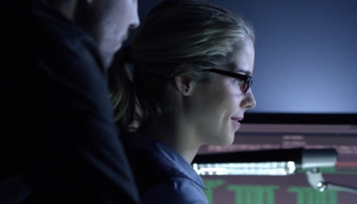 Oliver & Felicity Hintergrund entitled Arrow