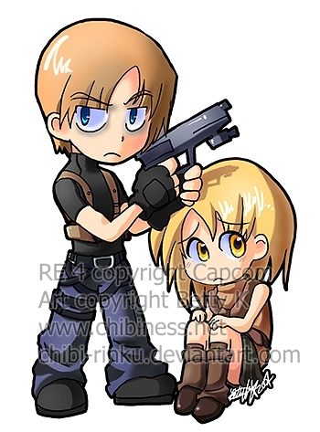 ashley and leon