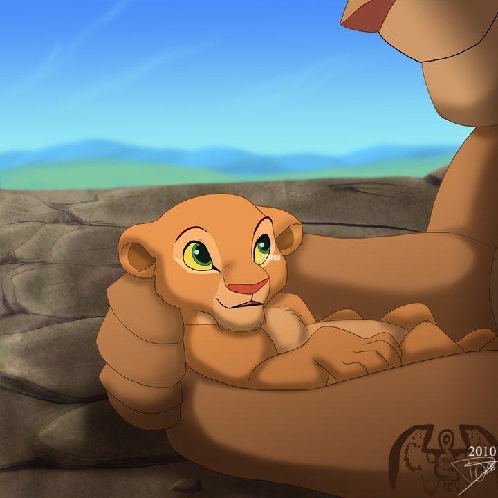 baby Nala - The Lion King Photo - 55.8KB