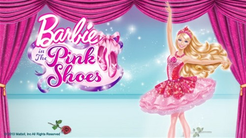 barbie in the گلابی shoes