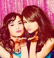 bff's forever  - selena-gomez-and-demi-lovato photo