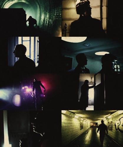 Auszeichnungen meme: sherlock + silhouettes