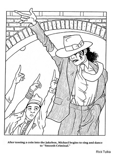Michael Free Colouring Pages Michael Coloring Page