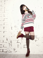 cutie iu lee ji eun g for guess - dara-2ne1 photo