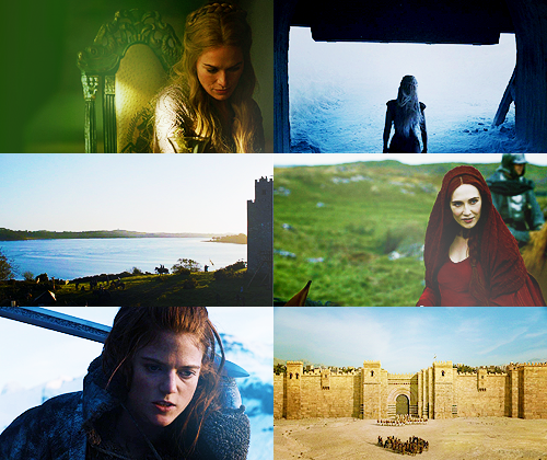 Game of Thrones + Colors Abound