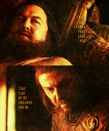 Robert Baratheon & Ned Stark
