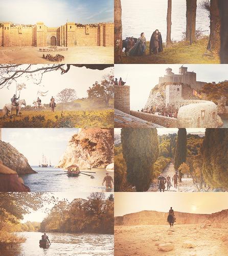 Game Of Thrones (Season 2) + scenery