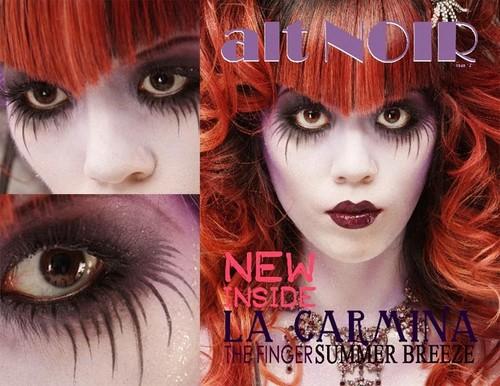 goth girl, gothic, fashion, hair, makeup, la carmina, lacarmina blog, egl, gothic lolita punk fetish
