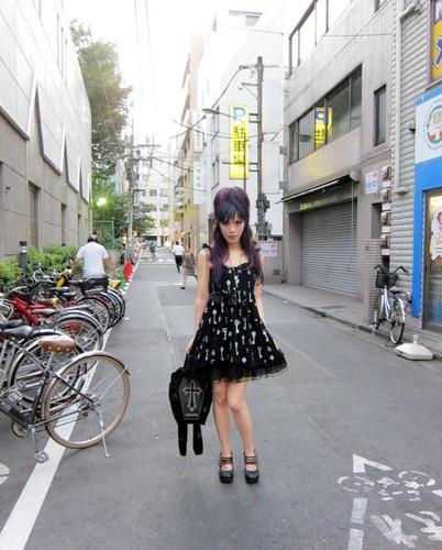 goth girl, gothic, fashion, hair, makeup, la carmina, lacarmina blog, egl, Gô tích lolita punk fetish