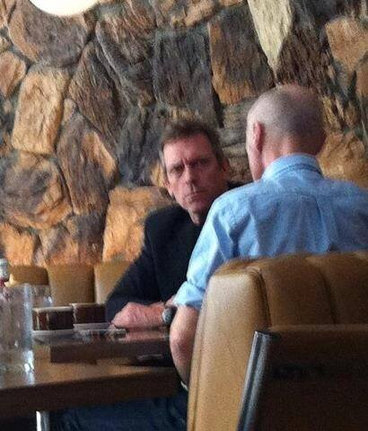 hugh in hollywood 31 january 2013 NO BEARD AGAIN!!