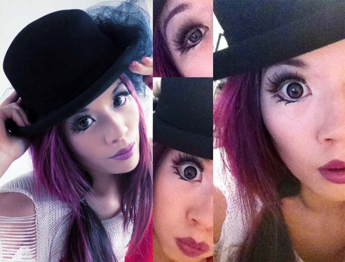 la carmina, lacarmina, living doll, japanese fashion, style blogger, cute clothes makeup, gyaru goth