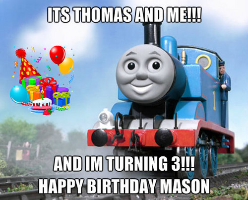 Thomas the Tank Engine wallpaper entitled mason