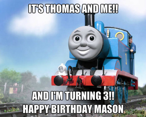 Thomas the Tank Engine achtergrond called mason1