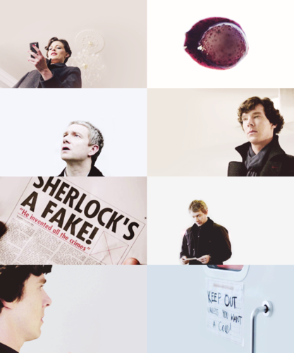 caps meme: sherlock + negative space