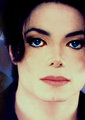 michael with blue eyes.he's still soo beautiful - michael-jackson photo