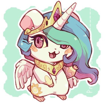 My Little Poney fond d'écran containing animé called princess celestia