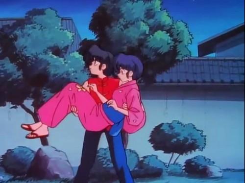 ranma 1/2 anime (ranma and akane)