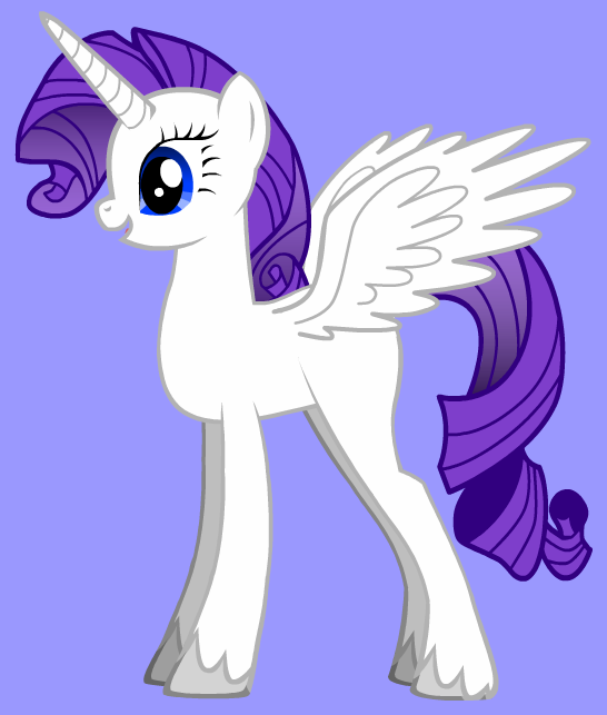 rarity club images rarity as a alicorn wallpaper and background