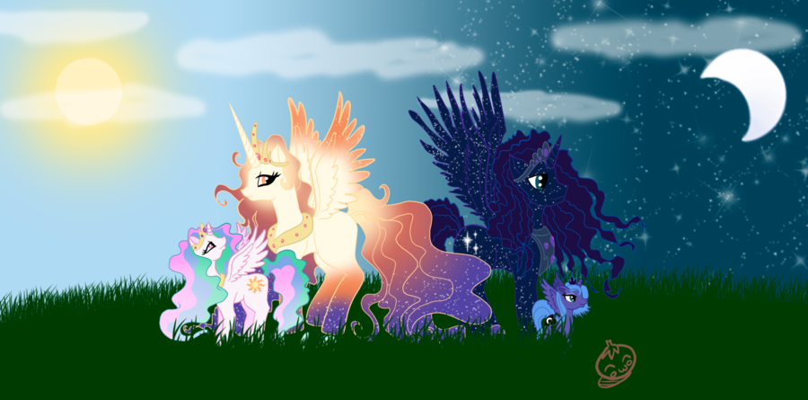 My little pony friendship is magic family tree - photo#24