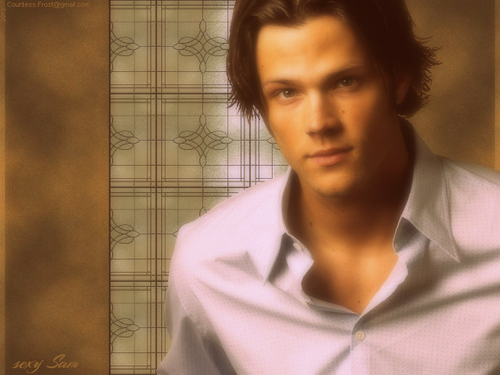 Sam Winchester wallpaper titled sexy Sam