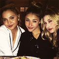 stella hudgens, madison beer and hailey :) - madison-beer fan art