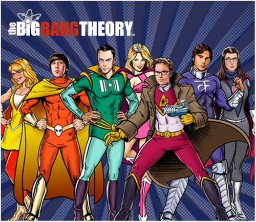The Big Bang Theory wallpaper with anime called tbbt