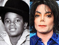 young and older - michael-jackson photo