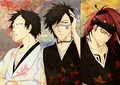 ~Akon, Shuhei, and Renji~  - bleach-anime fan art