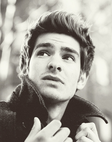 Andrew Garfield karatasi la kupamba ukuta probably with a street, a bouquet, and a camellia entitled ~Andrew!~