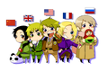 ~Chibi Allies~  - hetalia photo