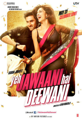 [EXCLUSIVE] - Poster Of 'Yeh Jawani Hai Deewani' !