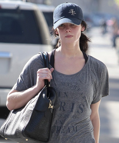 February 14 - Leaving the Gym in Studio City, California
