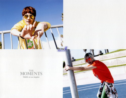 """[HQ] 2nd Mini Album Special Edition Photobook """"The moments"""""""