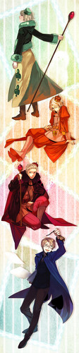 ~Hetalia Cardverse: The Kings~