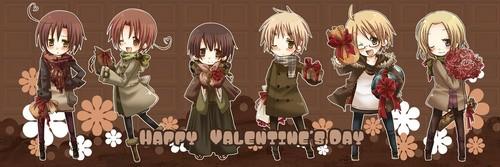 ♥~Hetalia Valentine~♥