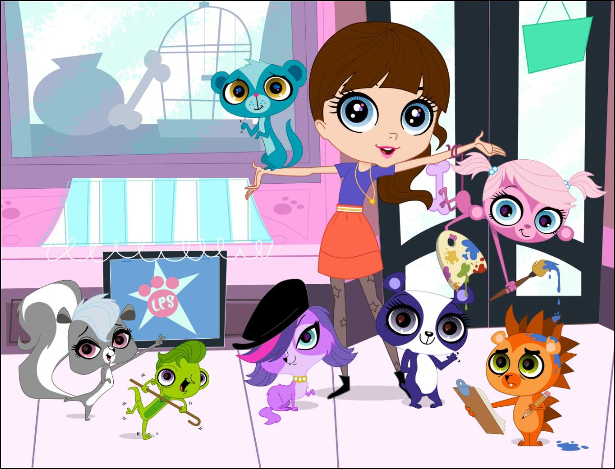 Littlest pet shop on the hub littlest pet shop