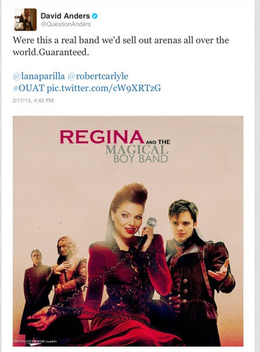 """Regina & The Magical Boy Band"""