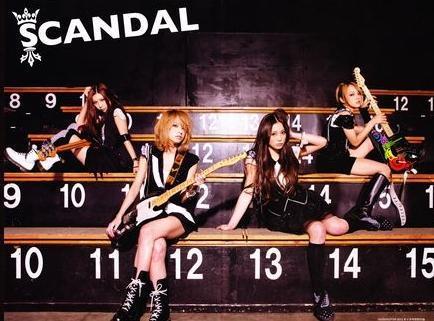 SCANDAL achtergrond titled ☆*~SCANDAL~*☆