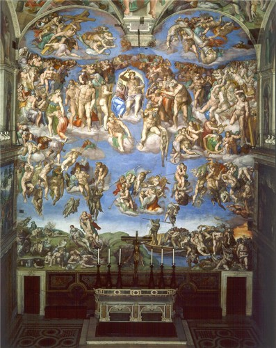 'The Last Judgement' kwa Michelangelo (1537-1541)