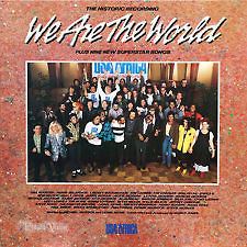 "1985 Single ""We Are The World"" On 45 RPM"