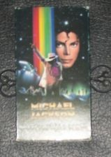 "1989 Motion Picture, ""Moonwalker"" On VHS"