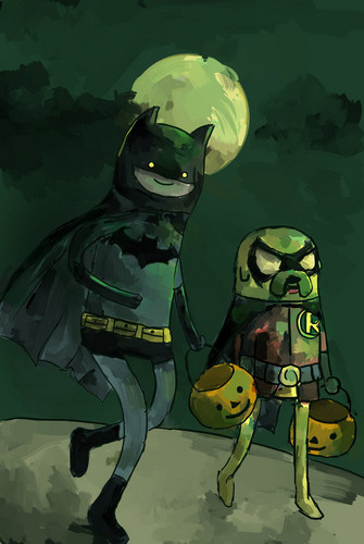 ADventure time Batman style