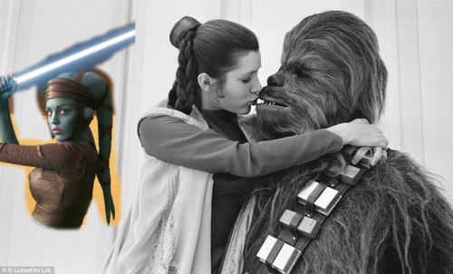 Aayla Leia and Chewie