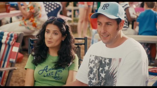 Adam Sandler wallpaper probably containing a sign and a portrait entitled Adam- In Grown ups