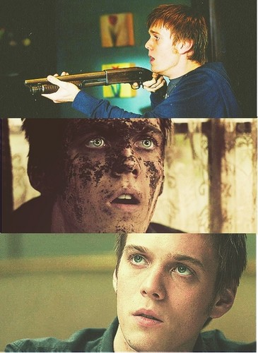 Jake Abel kertas dinding probably containing a sign called Adam Milligan - SPN