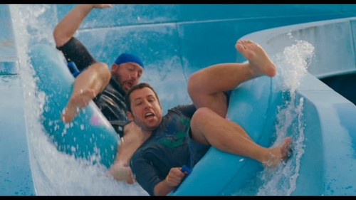 Adam Sandler wallpaper containing a hot tub and a water titled Adam on Grown ups